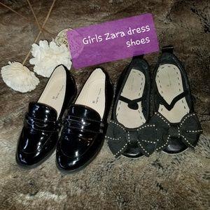 Zara dress shoes 2 pairs size 28